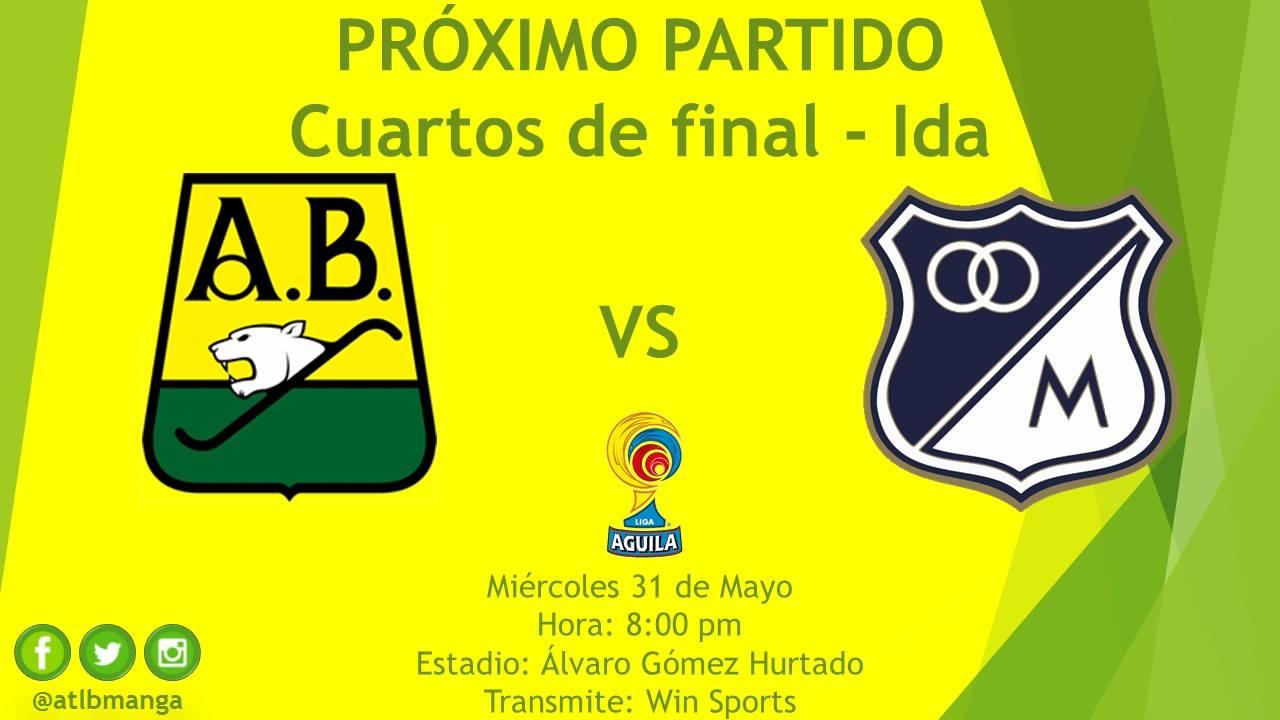 Atlético Bucaramanga vs. Millonarios, Liga Águila 2017