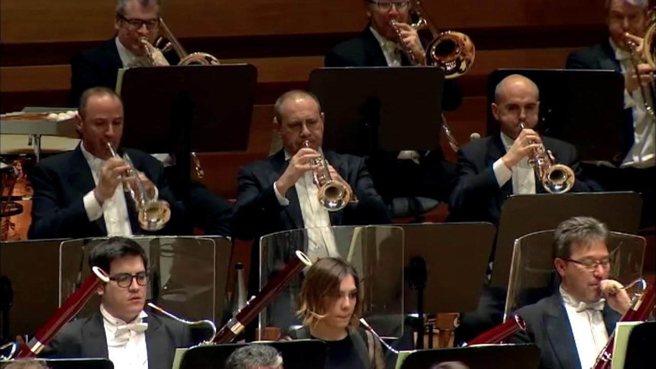 Concierto de Richard Strauss a cargo de la Orquesta Sinfónica de la Radio de Frankfurt
