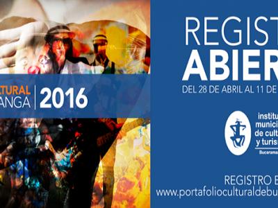 Abierto el registro para ser parte del 'Portafolio Cultural de Bucaramanga'