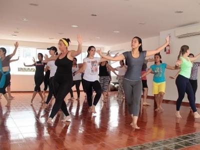 La sensualidad de la danza Bollywood, llega a conquistar Bucaramanga