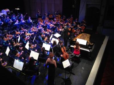 La Filarmónica Joven de Colombia se presenta en Bucaramanga