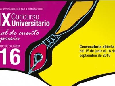 Convocatoria al 'Concurso Universitario Nacional de Cuento Corto y Poesía 2016'