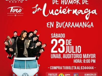 Sábado de humor con La Luciérnaga