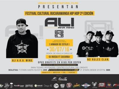 Segunda edición del Festival de Hip Hop en Bucaramanga