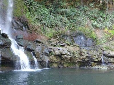 Próximo destino la cascada La Lajita