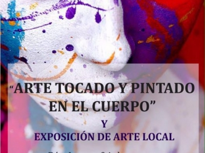 Sesión de 'Arte tocado y pintado en el cuerpo', disponible para los bumangueses