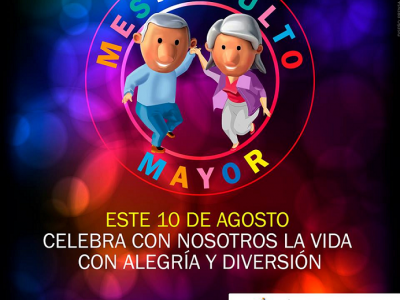 "Celebra el ""Mes del adulto mayor"""