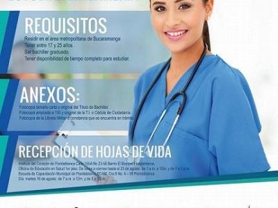 Inscripciones abiertas para estudiar enfermería