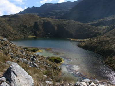 Recorrido a la laguna La Pintada