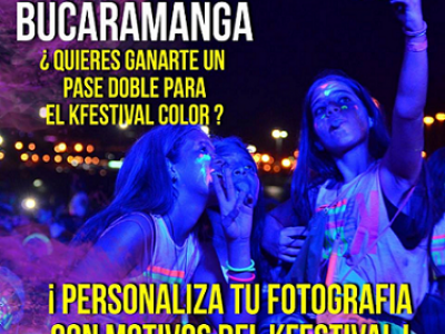 Gánate un pase doble para el Kfestival Color