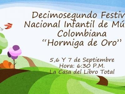 Festival nacional infantil de música colombiana