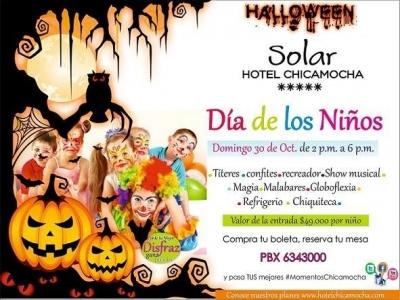 Celebra el 'Día de los niños', en el Hotel Chicamocha