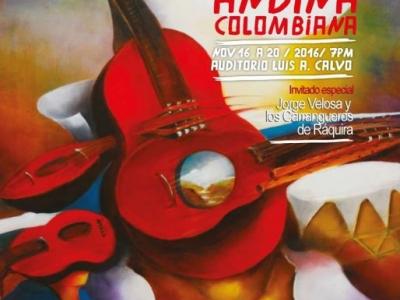 Semana de música andina en Bucaramanga