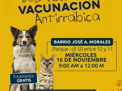 Jornada de vacunación gratuita