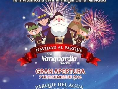'Navidad al Parque' con Vanguardia Liberal