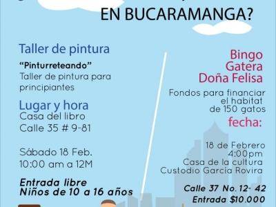¡Qué hacer hoy 18 de febrero en Bucaramanga?