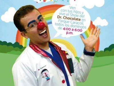 El Dr. Chocolate y sus payasos terapéuticos estarán en el Centro Comercial Caracolí
