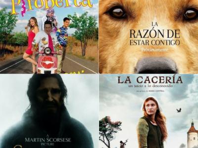 ¡Las mejores películas para el fin de semana!