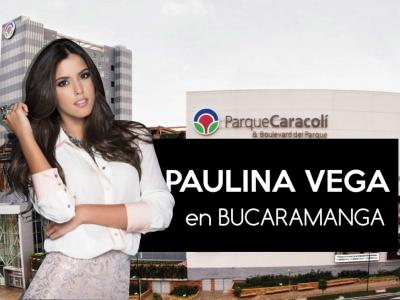 Paulina Vega, Miss Universo 2014, estará este sábado en Bucaramanga
