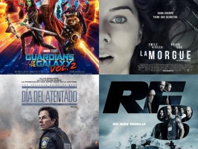 ¡Las mejores películas para este fin de semana!