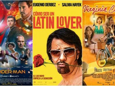 Disfrute la cartelera de cine para este fin de semana