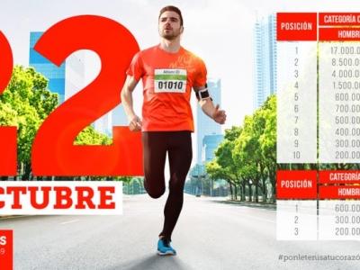 El 22 de octubre se corre el ¼ de maratón de Bucaramanga