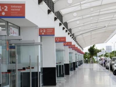 Entrada principal del aeropuerto (Foto: Archivo/ VANGUARDIA LIBERAL)